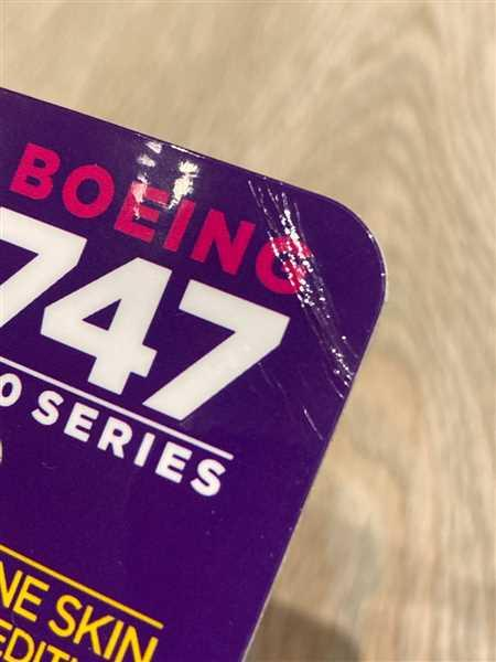 Timo Gonska verified customer review of Boeing Thai Airways 747 PlaneTag Tail #HS-TGM