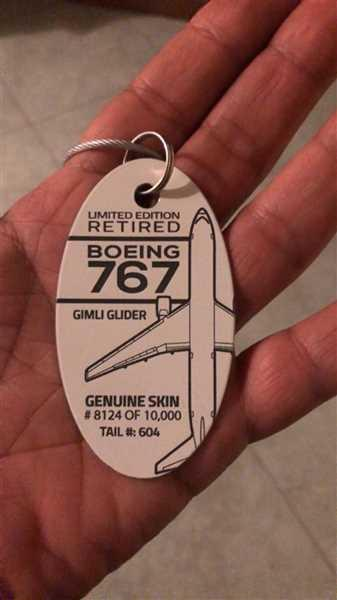 marco tomei verified customer review of Boeing 767 (Gimli Glider)  Tail# 604