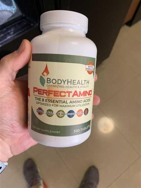 Cameron Adams verified customer review of PerfectAmino - Tablets