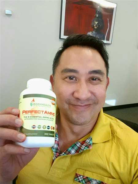 Anonymous verified customer review of PerfectAmino - Tablets