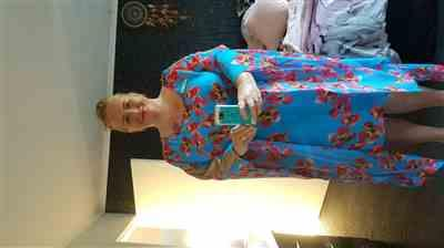 Donna Isaacson verified customer review of Briar Kaftan Dress