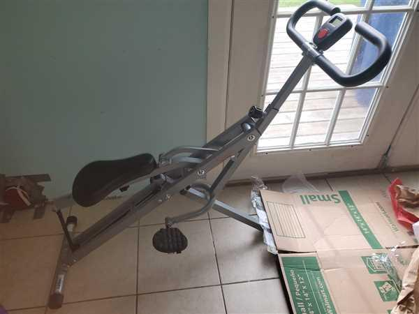 Amanda Neal verified customer review of Upright Row-N-Ride Rowing Machine