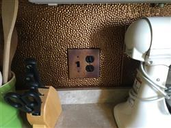 Kenneth J. verified customer review of Antique Copper - 1 Toggle Wallplate