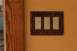 Joy B. verified customer review of Distressed Light Copper - 3 Rocker Wallplate
