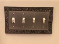 Rangin A. verified customer review of English Garden Antique Nickel Cast - 3 Toggle Wallplate