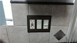Andrew M. verified customer review of Georgian Tumbled Aged Bronze Cast - 1 Toggle / 1 Duplex Wallplate