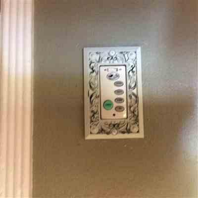 Wallplate Warehouse Filigree Antique White Cast - 1 Rocker Wallplate Review