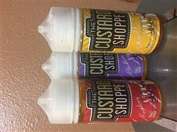 Vape Society Supply The Custard Shoppe 300ML Ejuice Bundle Review