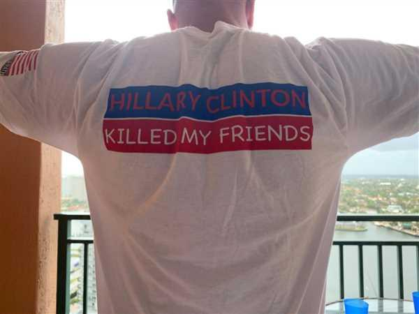Project War Path Hillary Clinton Killed My Friends T-shirt (5326 White) Review