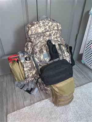 Scott D. verified customer review of B-Tac Rifle Pack Bug Out Bag