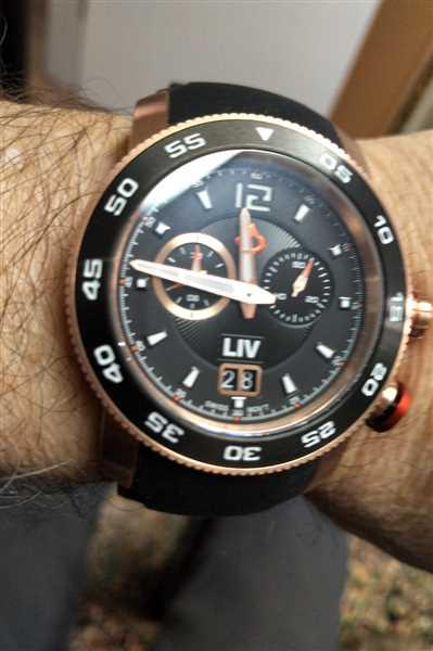 André Simoneau verified customer review of LIV GX Alarm Type-D Rose Gold