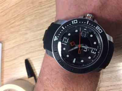 Antony Perkins verified customer review of LIV GX Swiss Diver's Automatic Steel Black 44MM w Cyclops