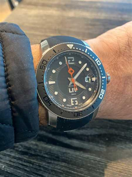 Andrew Lewis verified customer review of 44MM LIV GX Ceramic Diver's Steel Black