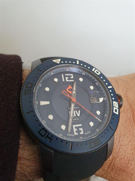 joseph distefano verified customer review of LIV GX Swiss Diver's Automatic Steel Black 44MM w Cyclops