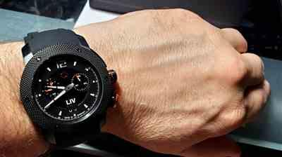 Perry Mittelstaedt verified customer review of LIV GX Analog Alarm Black Limited Edition