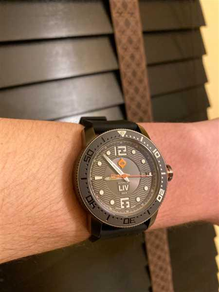 Brett Lejeune verified customer review of 44MM LIV GX Ceramic Diver's Gray Gray