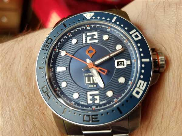 Patrick Dempsey verified customer review of 44MM LIV GX Ceramic Diver's Gray Gray