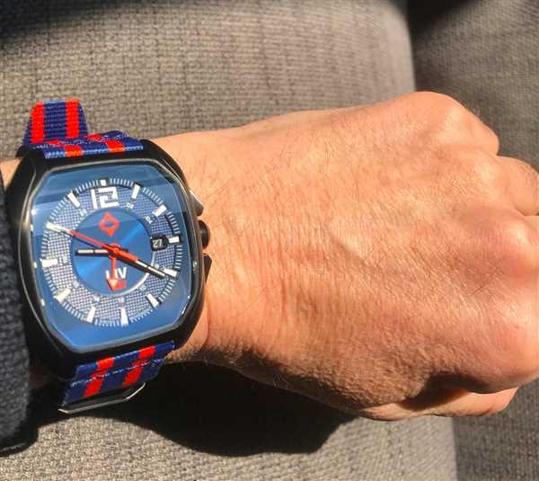 Julian Weekes verified customer review of LIV Rebel GMT Cobalt & Rose Gold