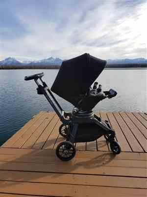 Nataliya A. verified customer review of G5 Stroller - Titanium Fame + Black Seat