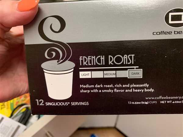 Rebecca Lane verified customer review of French Roast Single Serve Cups