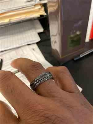 Kevin S. verified customer review of Nila Eternity Ring