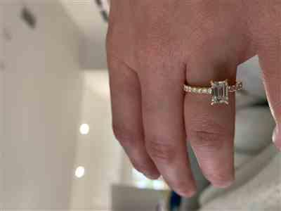 James Vincent verified customer review of Baby Elle Eternity Ring