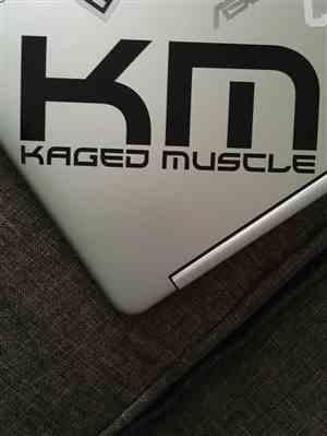 Alexandria B. verified customer review of Kaged Muscle KM Transfer Sticker