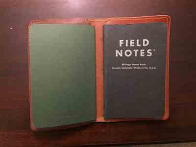 Coal Creek Leather Design Your Own Field Notes Cover Review