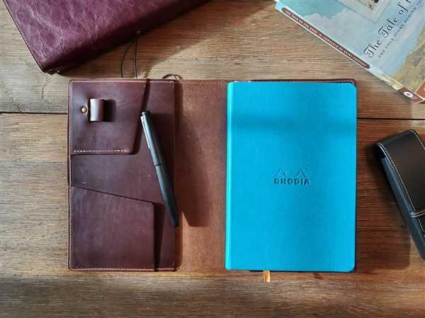 Sergio Martinez verified customer review of Cascade Leather Cover for A5 Notebooks - Chromexcel Tan