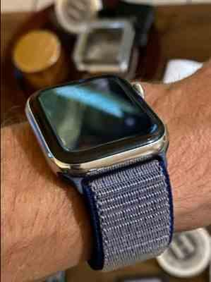 Kyle verified customer review of Apple Watch Bands | Woven Nylon Sport Loop Strap