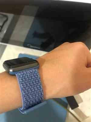 Andre M verified customer review of Apple Watch Bands | Woven Nylon Sport Loop Strap