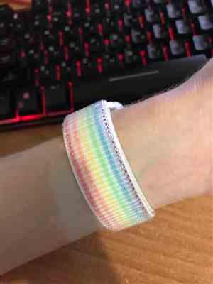 Othermom verified customer review of Apple Watch Bands | Woven Nylon Sport Loop Strap