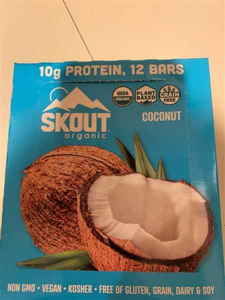 Skout Organic Skout Organic Peanut Butter and Jelly Real Food Bars for Kids Review