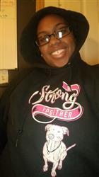 Avante S. verified customer review of BE STRONG TOGETHER - PULLOVER HOODIE