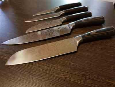 Eugene Darby verified customer review of Japanese Stainless Steel Knife Full Set (8 Pcs)