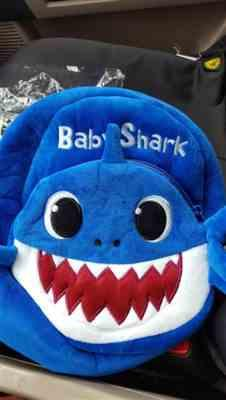 Isabel B verified customer review of Baby Shark Backpack