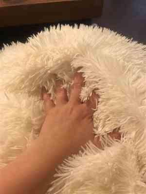 Camilla H. verified customer review of Fluffy Blanket With Pillow Cover 3 Pieces Set
