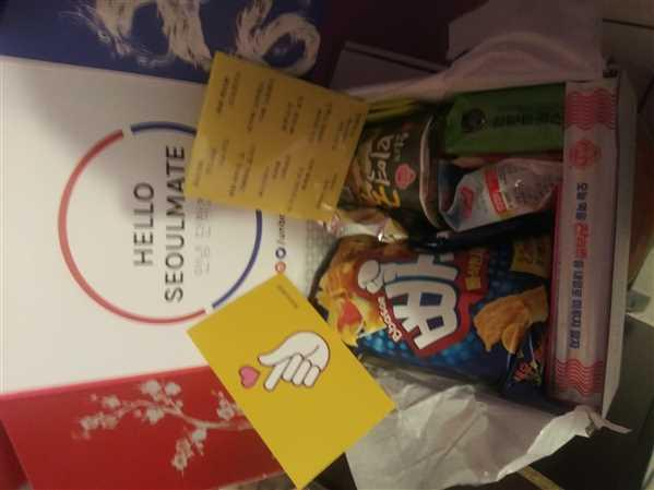 Cami . verified customer review of <b>Signature SeoulBox | the Ultimate Korean Snack Box</b>