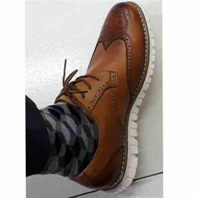 Buds V. - 26 May 2019 verified customer review of Alberto Formal Wingtip Oxford Shoes