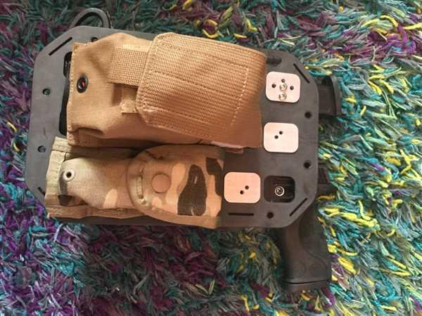 Anonymous verified customer review of RMP Backer Plate [G-Code RTI Holster Integration] Pair