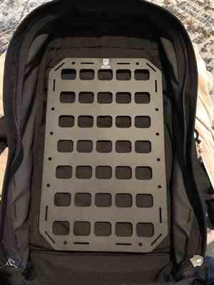 Bill Jackson verified customer review of Rigid MOLLE Panel (RMP) - 9.25in x 15in