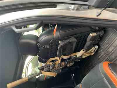 Anonymous verified customer review of Rigid MOLLE Panel - LEO Locking Rifle Rack - 15.25in x 25in