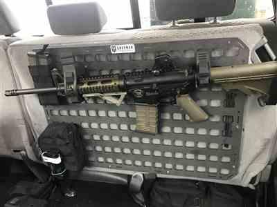 Anonymous verified customer review of Rigid MOLLE Panel (RMP) - 27.25in x 19in
