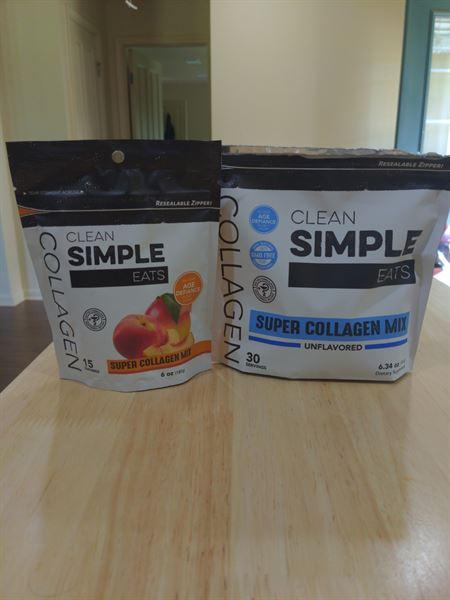 CleanSimpleEats Collagen: Super Collagen Mix (Peach Mango) Review