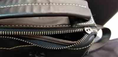 Miliamber verified customer review of Genuine Leather Vintage Crossbody Bag