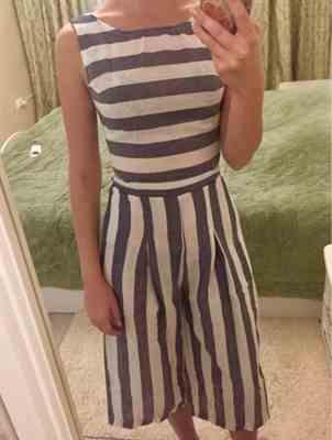 Pavacat Casual Striped Wide Leg Jumpsuit Review