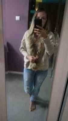 Pavacat Buffy Faux Fur Cable Knit Cardigan Review
