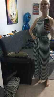 Pavacat Elegant Sleeveless Striped Jumpsuit Review
