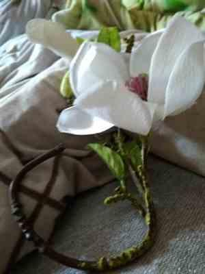 Pavacat Artificial Flowers Orchid Magnolia Review