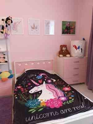 Pavacat Unicorn Fleece Blanket Review